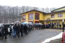 800 Gäste kamen zur Trauerfeier in die Ritter-Georg-Halle in Schwarzenberg.