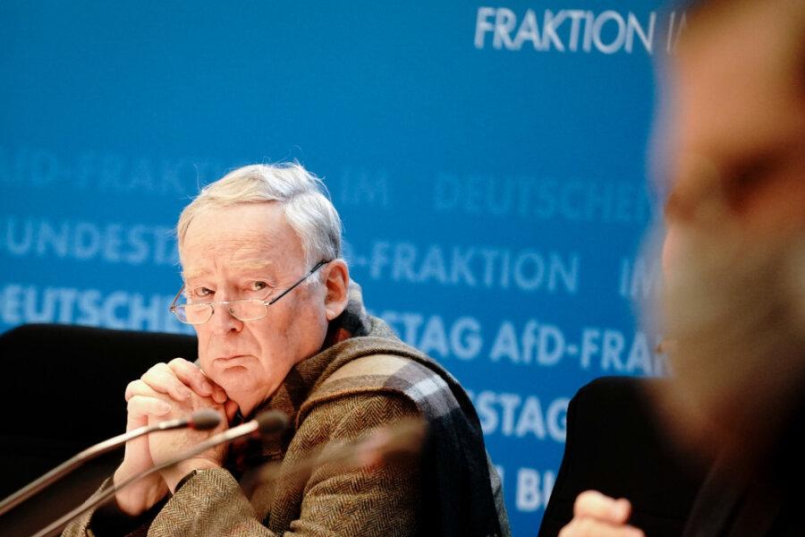 Alexander Gauland, AfD-Ehrenvorsitzender.