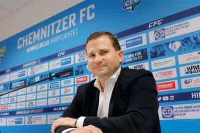 Marc Arnold, Geschäftsführer Sport beim Fußball-Regionalligist Chemnitzer FC.