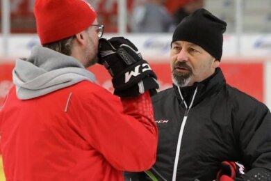 Daniel Naud hat das Vertragsangebot der Eispiraten Crimmitschau abgelehnt. Er wird neuer Trainer der Steelers Bietigheim-Bissingen.