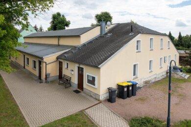 Die Sporthalle in Wiederau ist nicht mehr auf dem neusten Stand und soll saniert werden.