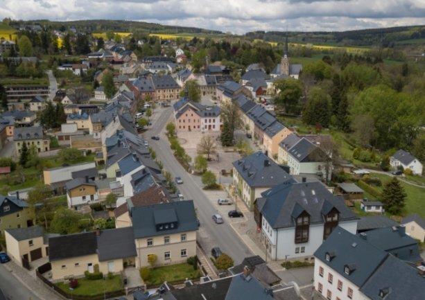 Die Stadt Elterlein.