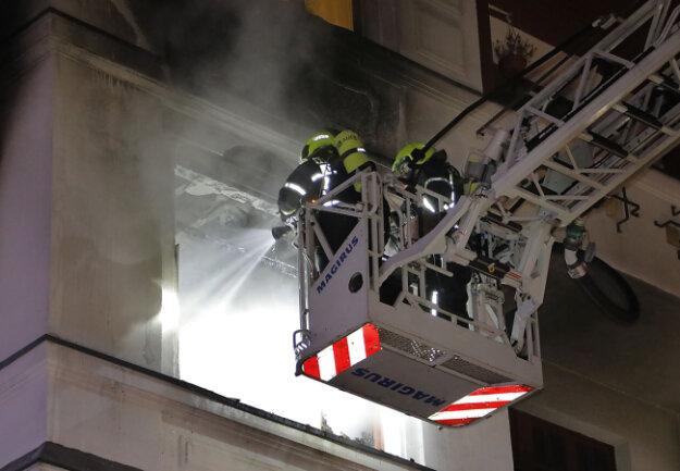 Zu einem Wohnungsbrand war es auf der Südbahnstraße gekommen.