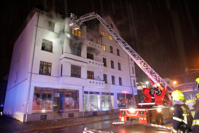 Das Feuer konnte schnell gelöscht werden.