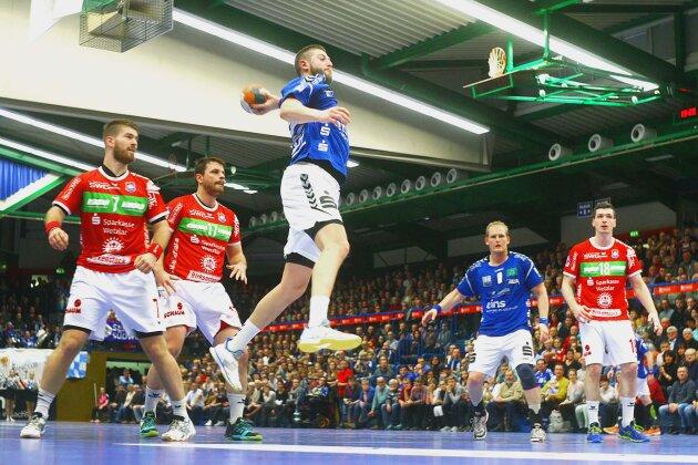 EHV Aue verliert gegen Hüttenberg