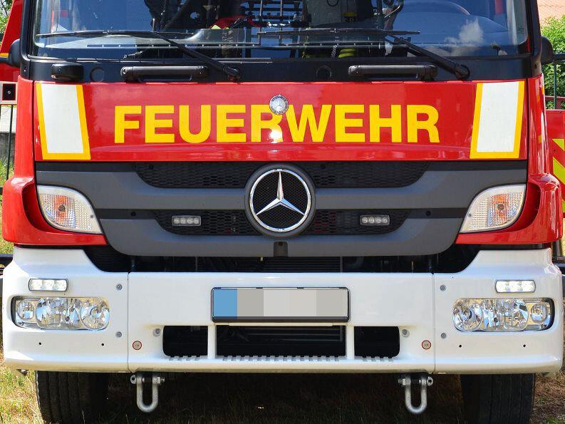 Zwei Menschen sterben bei Feuer in Grimma