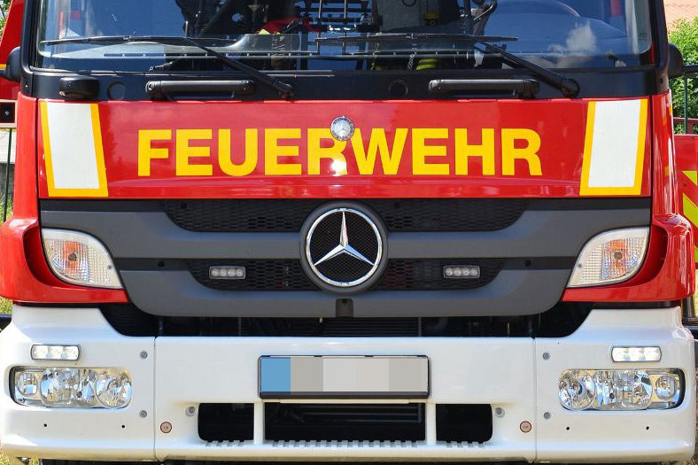 Feueralarm im Kaufland in Werdau