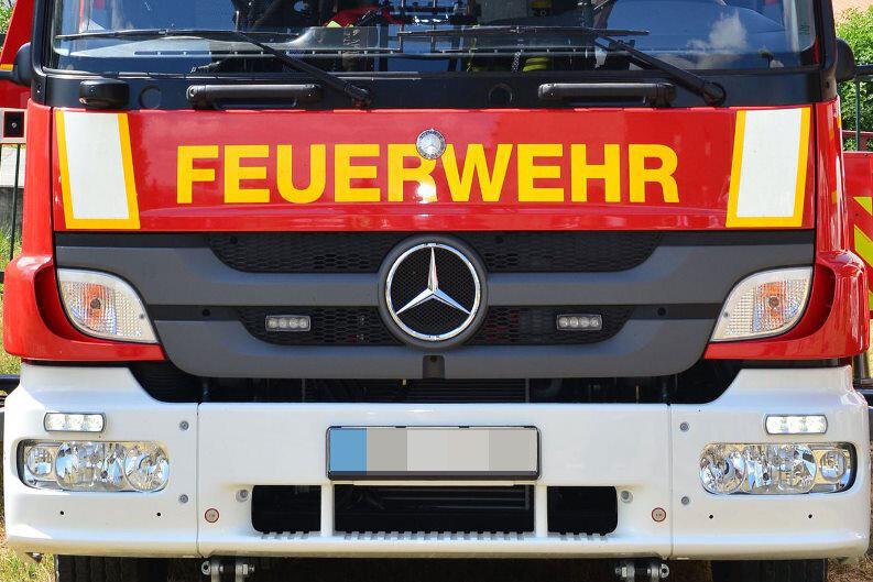 Zwickau: Feuerwehr befreit Kälber aus Schacht