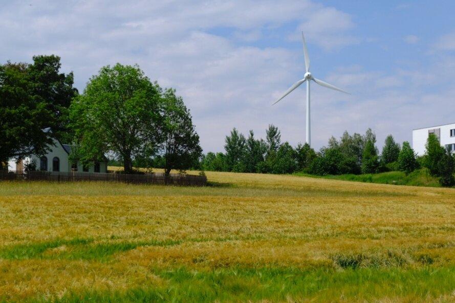 Das neue Windrad soll mehr als doppelt so groß werden.
