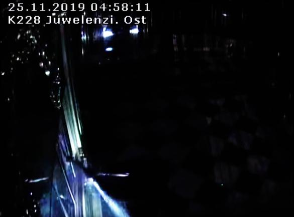 Mit einer Axt zerstörte einer der Einbrecher eine Vitrine im Grünen Gewölbe.