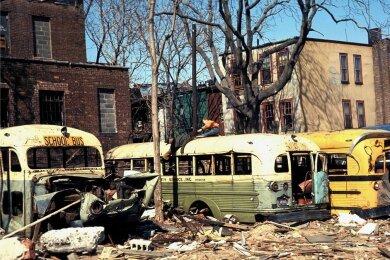 New Yorker Stadtteil Brooklyn Ende der 60er, Anfang der 70er: Das heutige Hipster-Viertel war ein Slum.