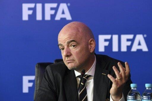 Erste WM als FIFA-Präsident: Gianni Infantino