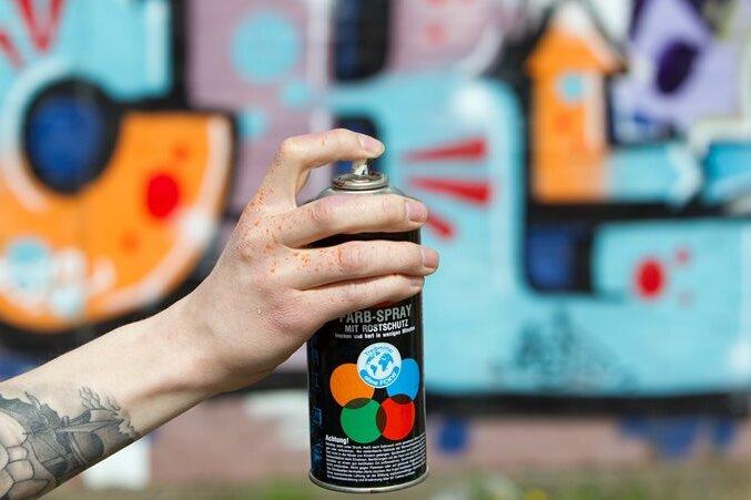 800 Euro Schaden durch Graffiti