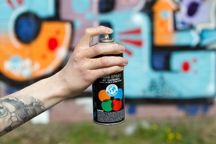 Großflächiges Graffito auf dem Kaßberg aufgetaucht