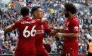 Roberto Firmino erzielt das 2:0 für die Reds