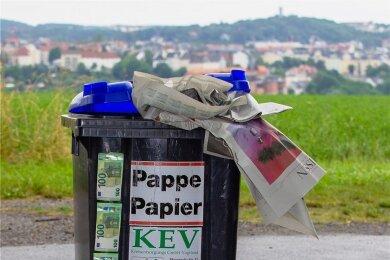 Papiertonne, Papierabholung