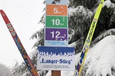 Zu Ehren des verstorbenen Vereinsurgesteins Volker Langer ist ein Abschnitt der Schwartenbergloipe nach ihm benannt worden.
