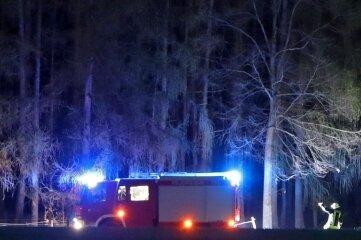 Feuerwehreinsatz am Samstagabend in Langenchursdorf.