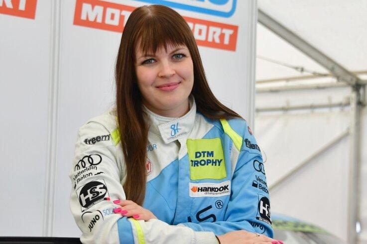 Die Lernkurve von Sophie Hofmann stieg in der DTM-Trophy gegen Saisonende steil an.