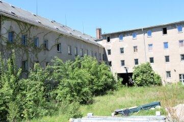 Das ehemalige Verwaltungsgebäude des VEB Planet Wäschekonfektion wird abgerissen.