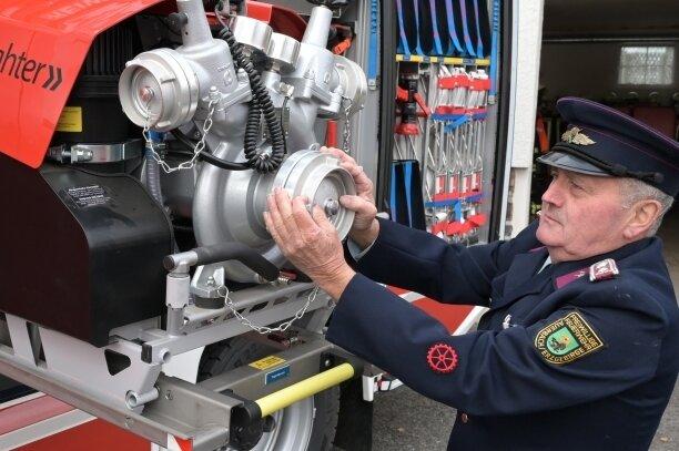 Löschfahrzeug für Auerbacher Feuerwehr: Neuanschaffung verursacht Herzschmerz