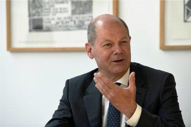 """So beschreibt SPD-Kanzlerkandidat Olaf Scholz sich selbst: """"Meinem Naturell nach bin ich ein ziemlich gelassener Mensch."""""""