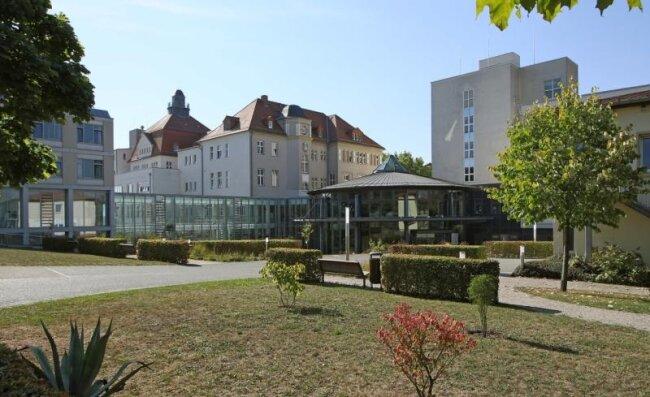 Im Glauchauer Klinikum wurden die Kreißsäle verlegt.