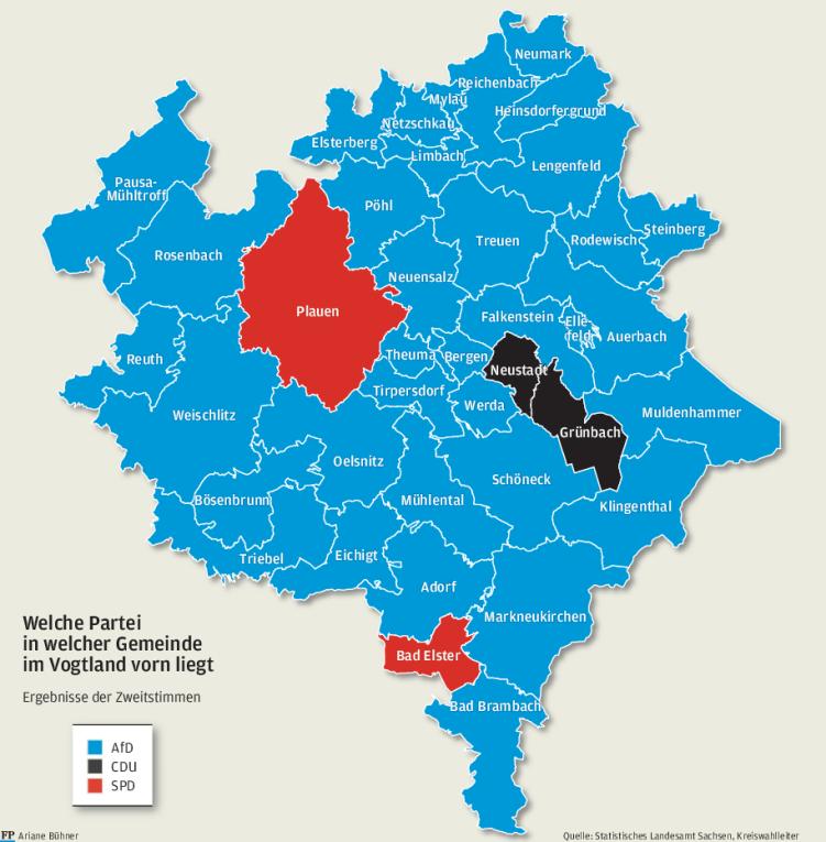 Fünf Lehren aus der Wahl im Vogtland