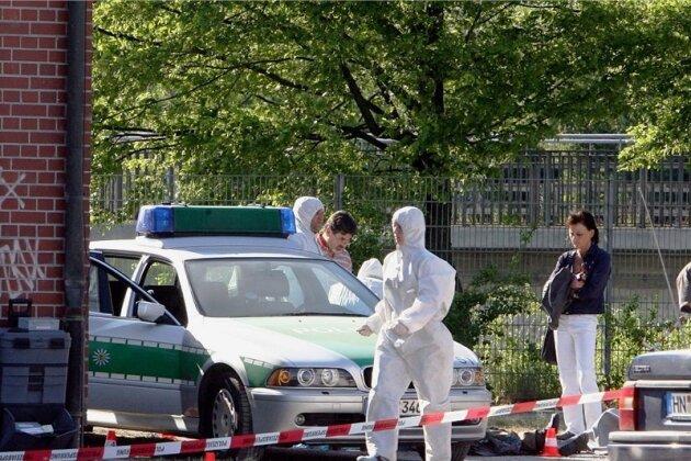 """Für die 22-jährige Polizistin Michèle Kiesewetter kam nach dem """"Shooting incident"""" am 25. April 2007 auf der Heilbronner Theresienwiese jede Hilfe zu spät, ihr Kollege Martin A. überlebte knapp."""
