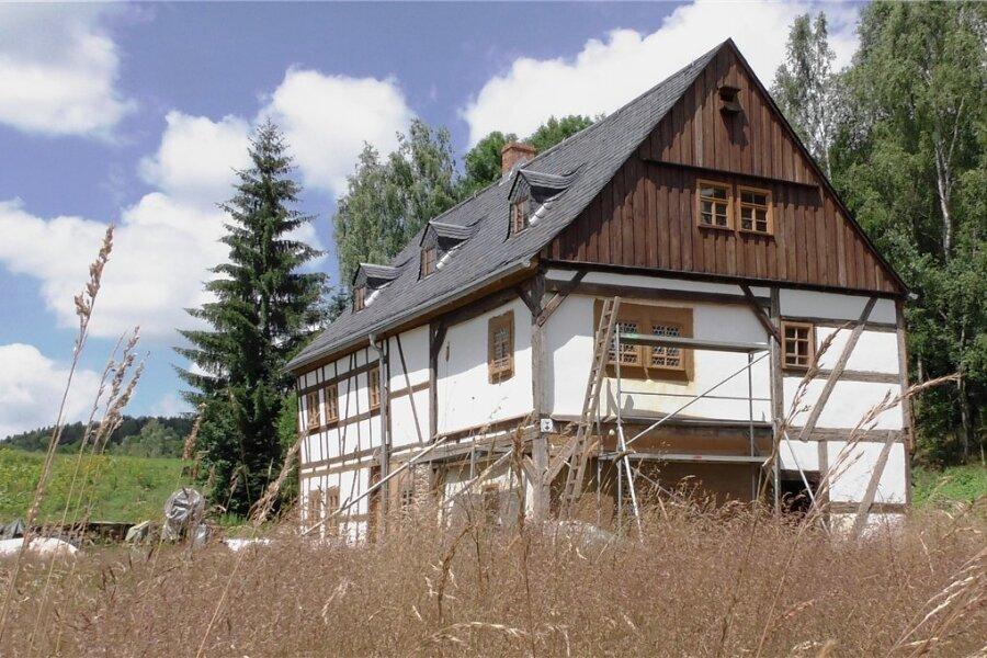 Die Silberschmelzhütte St. Georgen im Schneeberger Ortsteil Neustädtel bleibt weiter im Vereinsbesitz.
