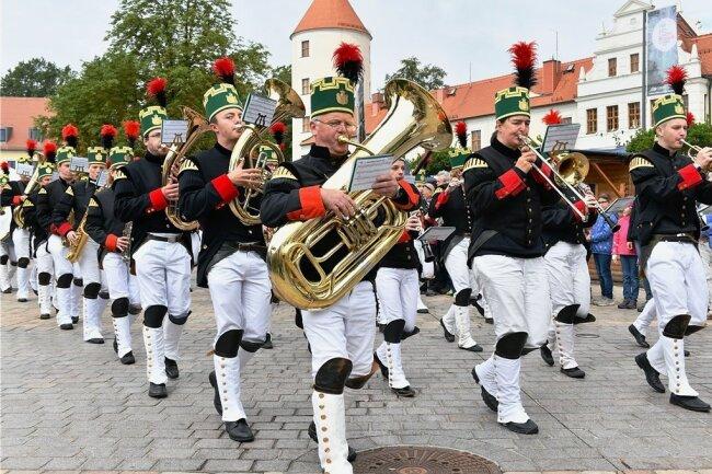Die traditionelle Bergparade am Sonntagvormittag gehört zu den Höhepunkten des Bergstadtfestes. Stattfinden kann das Fest zwar nicht wie geplant, die Parade soll es aber trotzdem geben.