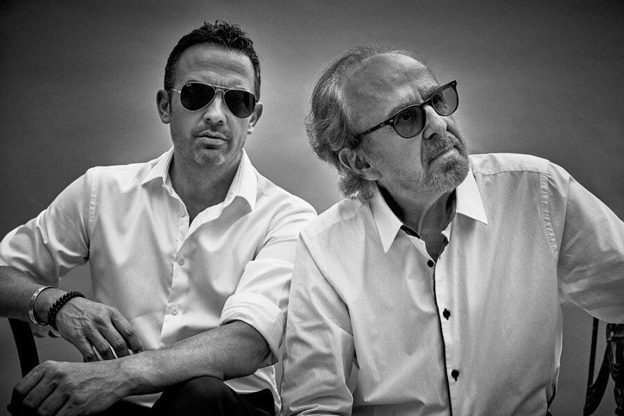Till Brönner (links) hat sich für sein neues Album den legendären Jazz-Pianist Bob James geholt.