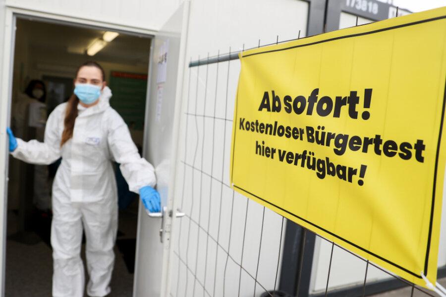 Corona-Lage im Landkreis Zwickau: Inzidenz weiter über 300