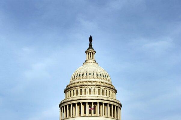 Das Capitol in Washington - Sitz des US-Kongresses.