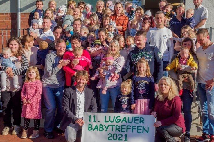 Lugau begrüßt seine Jüngsten