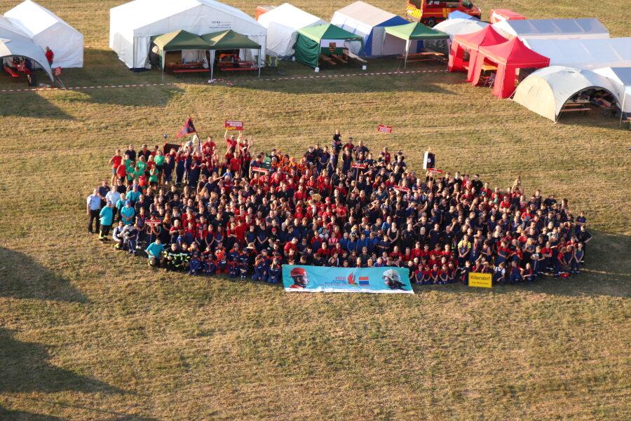Rund 500 junge Brandschützer treffen sich in Oederan