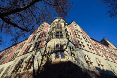 Das Gebäude auf dem Kaßberg steht unter Denkmalschutz.