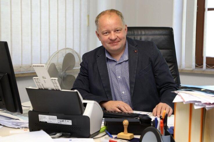 Uwe Redlich will in seine dritte Amtszeit gewählt werden.