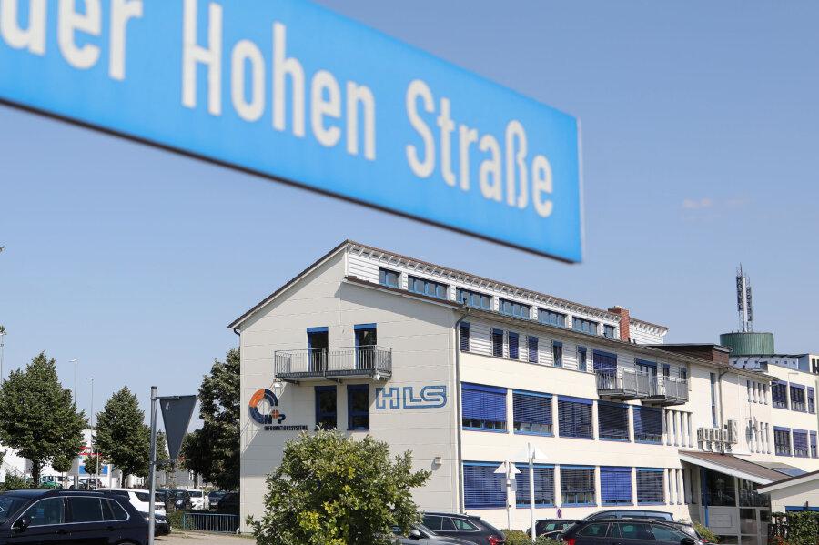 Der HLS-Standort im Meeraner Gewerbegebiet.