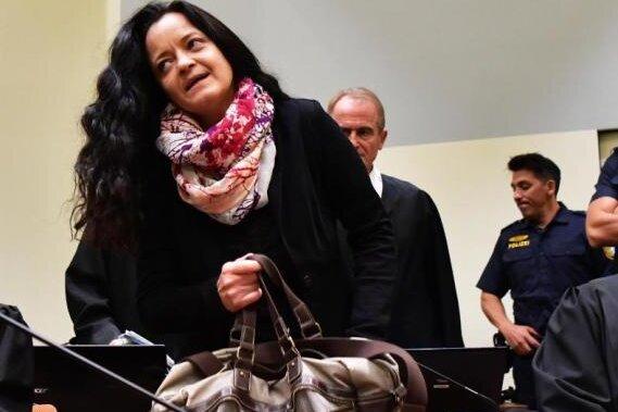 Bleibt für viele Jahre hinter Gittern: Beate Zschäpe - verurteilt unter anderem wegen zehnfachen Mordes.