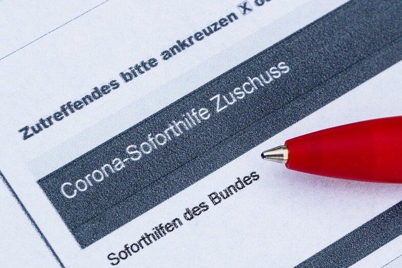In Sachsen erhielten mehr als die Hälfte aller Firmen Soforthilfe