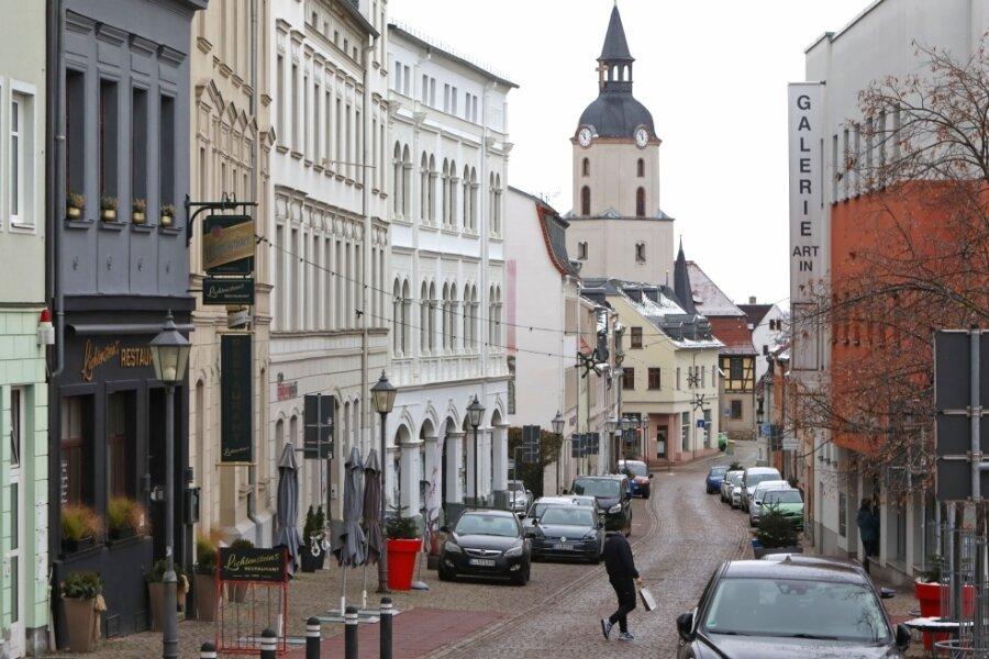 In der Innenstadt von Meerane ist aktuell wenig los. Viele hoffen, dass sich das schnell ändert.