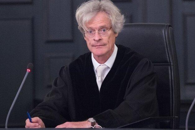 Klaus Hartmann, Vorsitzender Richter, verkündete das Urteil.