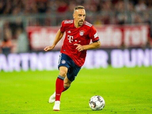 Franck Ribery verließ vorzeitig die Allianz Arena