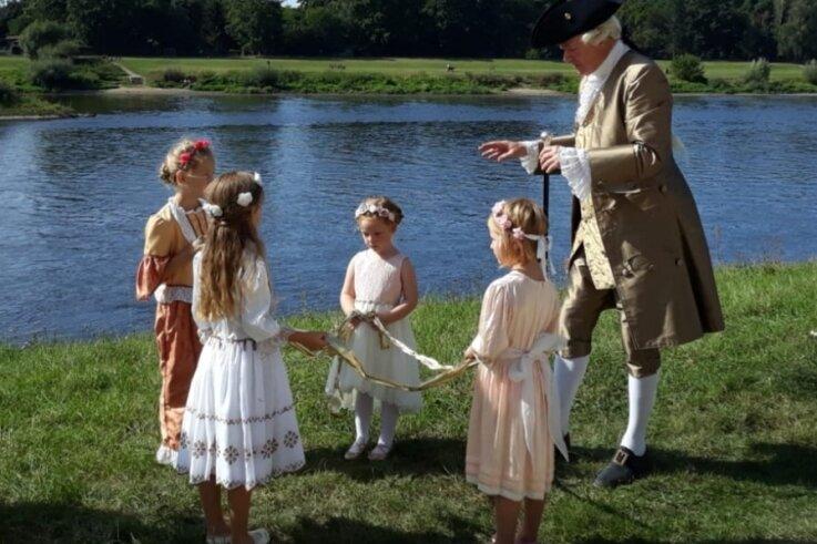 Tanz-Kinder im Fernsehen