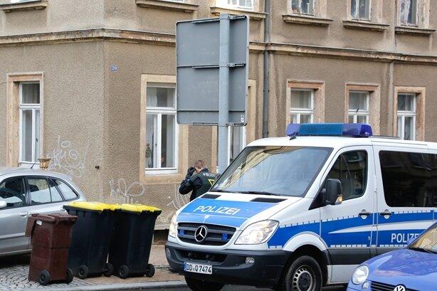 Die Polizei hat am Montag eine Wohnung in Frankenberg nach Diebesgut durchsucht.
