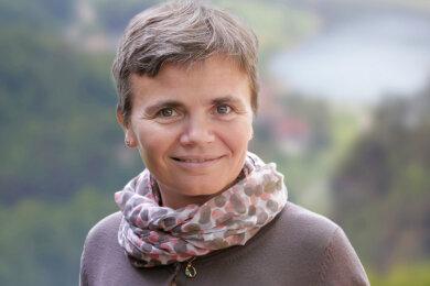 Mandy Krebs koordiniert beim Tourismusverband Sächsische Schweiz seit 17 Jahren das Marketing für den Elberadweg in ganz Sachsen.