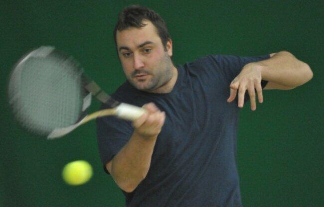 Wird im Winter nicht in der Halle aufschlagen: Jan Marek, Spitzenspieler des Freiberger HTC in der Altersklasse Herren 30.