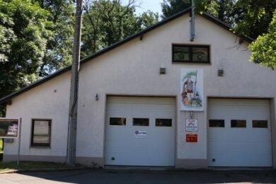 Das Leubnitzer Feuerwehrgerätehaus.