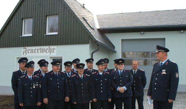 """<p class=""""artikelinhalt"""">Die Kameraden der Freiwilligen Feuerwehr haben ihr neues Gerätehaus in Besitz genommen. </p>"""